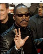 Eddie Murphy won an award for his role