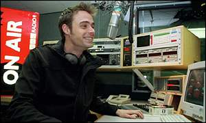 Jamie Theakston presents TV and radio shows