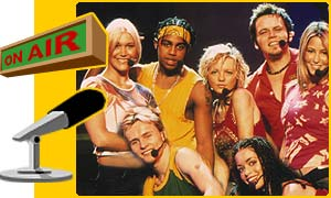 S Club 7 in the hotseat