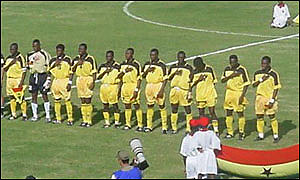 Ghana line up against Morocco in Segou