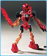 A Bionicle robot by Lego