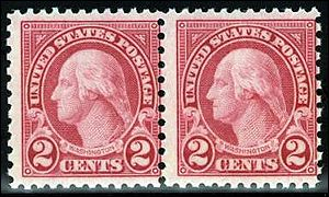 A 2-cent Washington stamp
