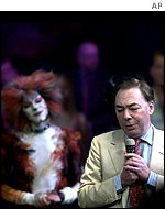 Andrew Lloyd Webber is a director of Theatreshare