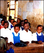 Chombu primary school in Tanzania
