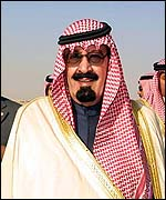 Crown Prince Abdallah of Saudi Arabia