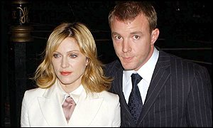 Madonna with husband Guy Ritchie