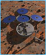 The Beagle 2 space craft