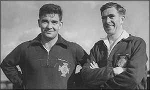Both Danny and Jackie Blanchflower played for Northern Ireland in the 1958 World Cup finals