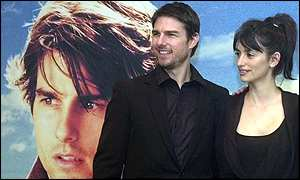 Tom Cruise and Penelope Cruise