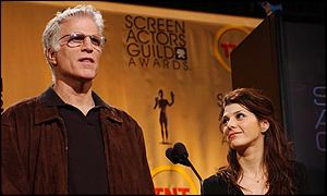 Ted Danson and Marisa Tomei r