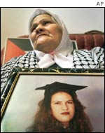 Wasfiyeh, Wafa Idris's mother