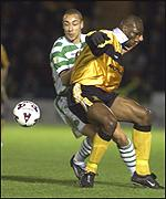 Larsson was on target once again