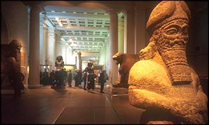 The British Museum's Egyptian gallery