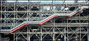 The Pompidou centre caused a stir when opened