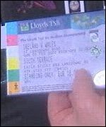 Ticket for Ireland v Wales