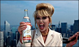 Joanna Lumley partakes the Stoli