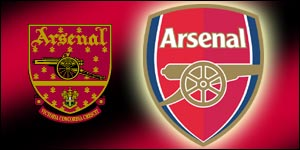 Before and after: Arsenal's old and new club crests
