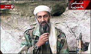 Bin Laden's statement broadcast on Al-Jazeera in October
