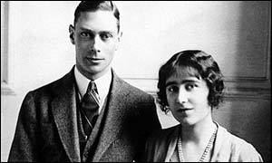 King George VI and Queen Elizabeth (not the Queen Mother)