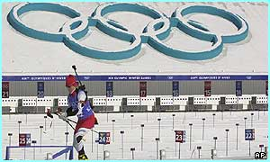 The Winter Olympics are in Salt Lake City