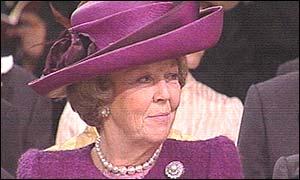 Queen beatrix royal wedding