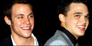William Young and Gareth Gates