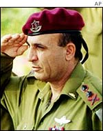 Israeli Chief of Staff Shaul Mofaz