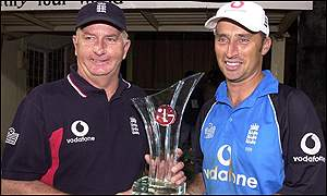 England and India share the One-Day International trophy after drawing the series 3-3