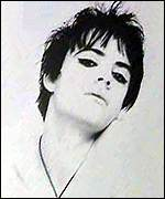 Richey Edwards of the Manic Street Preachers
