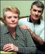 Graham and Sherry Edwards - parents of Richey Edwards