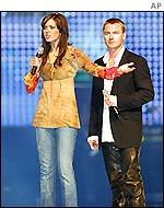 Mandy Moore and Ronan Keating