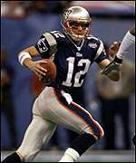 Tom Brady was MVP of Super Bowl XXXVI