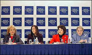 Panel of women's leaders