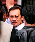[ image: Anwar says he was beaten up by police]