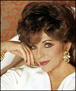 Joan Collins will be at the launch