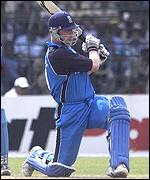 Flintoff batting