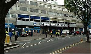 Fulham will be sharing QPR's Loftus Road ground from next season