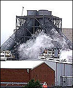Enron power station at Redcar, Teeside, UK