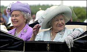 Queen and Queen Mother