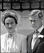 Unacceptable: Wallis Simpson and the ex-King
