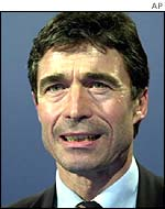 Anders Fogh Rasmussen, Danish PM