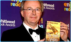 Award-winning author Phillip Pullman