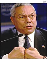 US Secretary of State Colin Powell