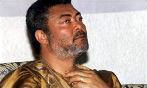 Jerry Rawlings, former president of Ghana