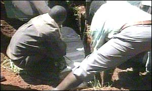 Murdered opposition supporter is buried