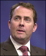 Tory health spokesman Liam Fox