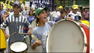 Argentines protest against rising unemployment