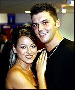 Lisa Scott-Lee and Johnny Shentall