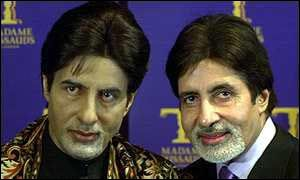 Amitabh Bachchan has a waxwork dummy at Madame Tussands