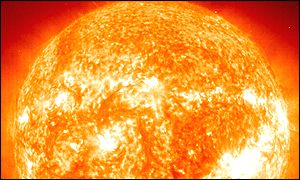 Image of the Sun taken by the Soho spacecraft (Nasa)